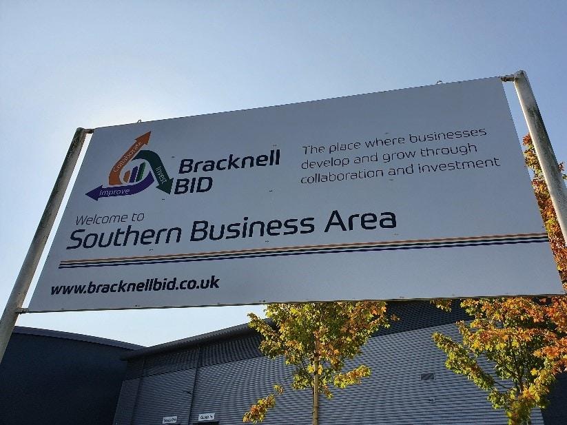 Bracknell BID Sign