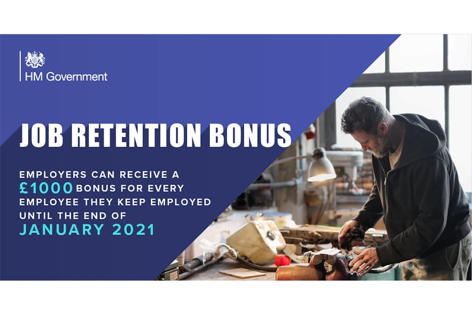 job retention bonus