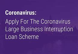 Large Business Interruption Loan Scheme